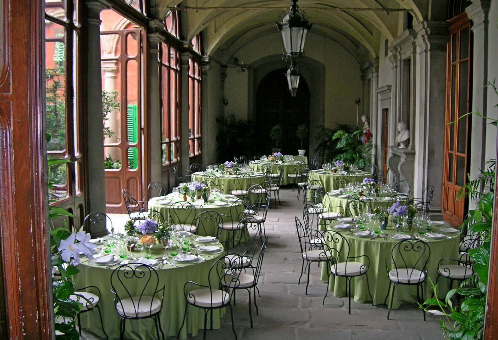 Luxury events venue in florence italy